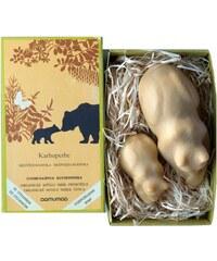 Přírodní mýdlo medvědí rodinka 150g, smrk pryskyřice Aamumaa