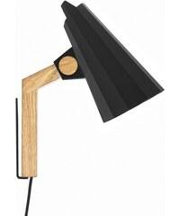 Nástěnná lampa Filly, černá Himmee