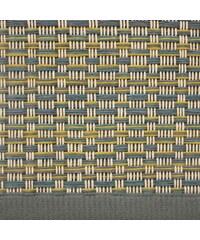 Koberec Jazz, žluto-modro-šedý, Rozměry 80x200 cm VM-Carpet