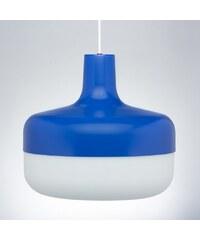 Závěsná lampa Korona, modrá Valoarte