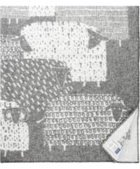 Vlněná deka Päkäpäät 130x180, šedá Lapuan Kankurit