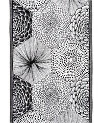 Utěrka Ruut 48x70, černo-bílá Lapuan Kankurit