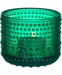 Svícen Kastehelmi, smaragdový Iittala