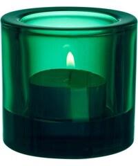 Svícen Kivi, smaragdový Iittala