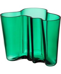 Váza Alvar Aalto 160mm, smaragdová Iittala