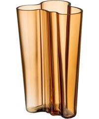 Váza Alvar Aalto 201mm, zlatá desert Iittala