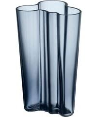 Váza Alvar Aalto 201mm, modrá rain Iittala