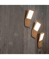 Stropní lampa Butterfly 2, dub Tunto