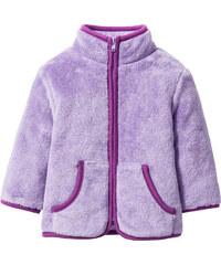 bpc bonprix collection Gilet bébé en polaire peluche violet enfant - bonprix