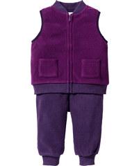 bpc bonprix collection Gilet bébé polaire + pantalon polaire (Ens. 2 pces.) violet enfant - bonprix