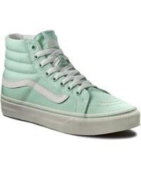 Sneakers VANS - Sk8-Hi Slim VN00018IIMA Gossamer Green/Blanc de Blanc