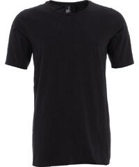 NEBO MATS schlichtes T-Shirt in Schwarz
