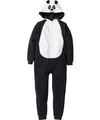 bpc bonprix collection Kapuzensweat-Overall Panda in schwarz von bonprix