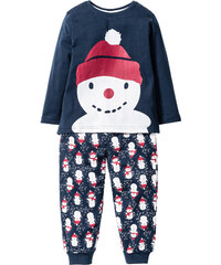 bpc bonprix collection Pyjama (2-tlg. Set) in blau für Babys von bonprix