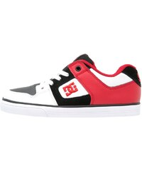 DC Shoes PURE Skaterschuh white/black/red