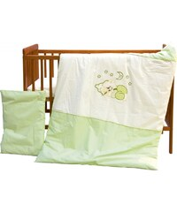 Scarlett Dětské povlečení Měsíček, 135x100 cm - zelené