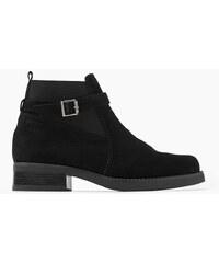 Esprit Semišové kotníkové boty, elastická vsadka