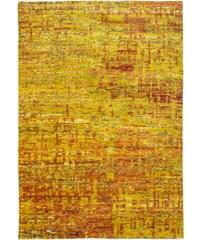 Ručně tkaný kusový koberec SAREE DE LUX 820 GOLD, Rozměry 120x170 Obsession