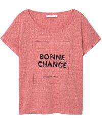 MANGO T-Shirt Coton Sequins