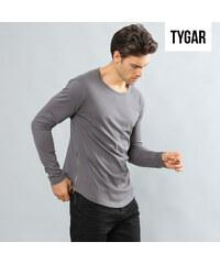 TYGAR Langarmshirt im Basicdesign - S