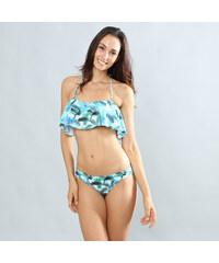 Lesara Bikini mit Volant-Top - S