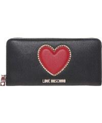 Love Moschino Portemonnaie mit Herz Applikation
