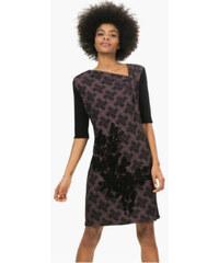 Desigual Dámské šaty Shana Negro 67V20T1 2000