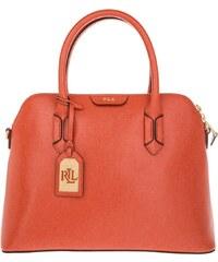 Lauren Ralph Lauren Sacs portés main, Dome Satchel Cameo Sunkist/Cocoa en orange