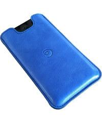 Danny P. Kožené pouzdro na iPhone SE/5S/5, Modré