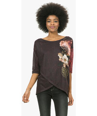 Desigual Dámský top Tibetan High Chicle 67T24Y8 3009