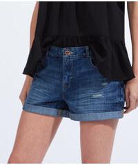 Short en jean déchiré Etam
