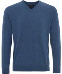 ETERNA Strickpullover für Herren jeansblau