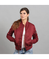 Alpha Industries MA - 1 VF 59 WMNS vínová