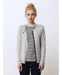 Cardigan Femme Coton / Soie / Cachemire Somewhere, Couleur Granite Chine