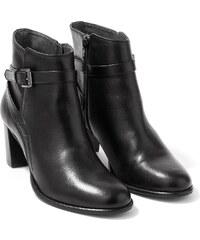 Boots Femme À Talon Somewhere, Couleur Noir