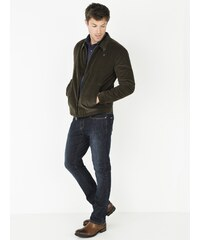 Jeans Homme Coton/élasthanne Straight Somewhere, Couleur Blue Black
