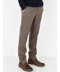 Pantalon Homme Lainage Tweed Somewhere, Couleur Brun