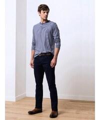 Pantalon Homme Coton/élasthanne Garment Dyed Straight Gamo Somewhere, Couleur Marine
