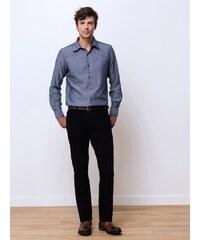 Pantalon Homme Coton/élasthanne Garment Dyed Straight Gamo Somewhere, Couleur Noir