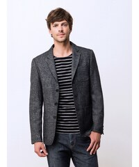 Veste Blazer Homme Tweed Somewhere, Couleur Anthracite