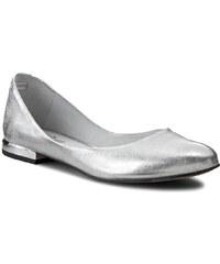 Ballerinas EKSBUT - 26-3972-369-1G Srebro