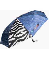 Desigual Dámský skládací deštník Electra Navy 67O56P1 5000