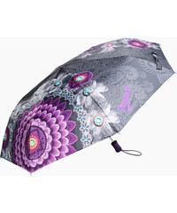 Desigual Dámský skládací plně automatický deštník Bollywood Mora 67O56P0 3019