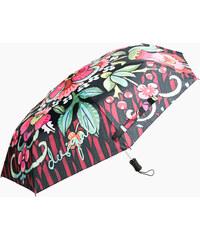 Desigual Dámský skládací deštník Ikara Fresa 67O56P2 3001