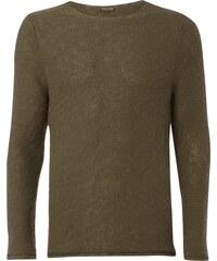 REVIEW Pullover aus reiner Baumwolle