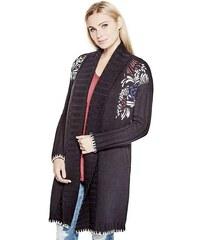 Guess svetr Liza Embroidered Coatigan
