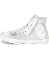 Converse stříbrné kotníkové tenisky Pearl