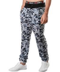 Re-Verse Sweatpants im Camouflage-Design - Grau - S