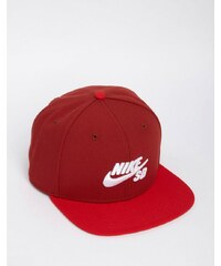 Nike SB - Icon Pro - Casquette - Rouge - 628683-674 - Rouge