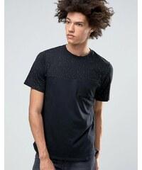 Nike SB - 800163-010 - T-shirt moucheté à manches courtes - Noir - Noir